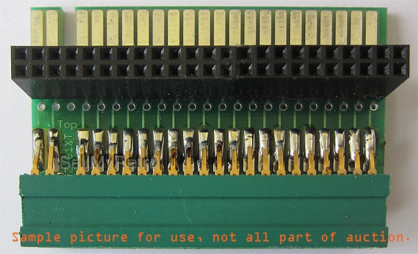 Sample use of ZX81XT with female connector