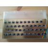 Sinclair ZX Spectrum 16K / 48K Repro Case Set Transparent & Faceplate Color Gold