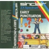 Early Punctuation for ZX Spectrum from Blackboard Software/Sinclair (E19/S)