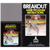Breakout for Atari 2600/VCS from Atari (CX2622)