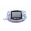 Nintendo Game Boy Advance GBA Clear Glacier Blue AGB-001 Handheld Console System