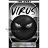Sinclair ZX81 16K game :  VIRUS   - new release cassette from Cronosoft