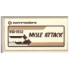 Mole Attack for Commodore Vic-20 from Commodore (VIC-1912)
