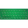 ZX Spectrum 16k/48k keyboard mat replacement Green