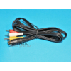 Commodore 16 C64 C128 VIC20 TV AV RCA Lead