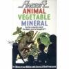 Animal Vegetable Mineral for Amstrad CPC by Amsoft on Tape