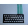 Brand New Sinclair ZX81 Keyboard Membrane (inbuilt keyboard)