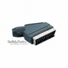 Scart connector 21-pin solderable