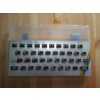 Sinclair ZX Spectrum 16K / 48K Replica Case Set Transparent with Black Keymat