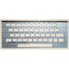 Keyboard Overlay (Faceplate) for Timex-Sinclair 2068 SILVER