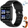 ANCwear Bluetooth Smart Watches Fitness Trackers with Heart Monitor and Blood Pressure, Waterproof A