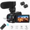 Camcorder Video Camera, Aabeloy Digital Camera with Microphone 1080P 30FPS 24MP 16X Digital Zoom 3&#