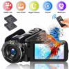 Video Camera Camcorder DIWUER 2020 Upgraded FHD 1080P 30MP Vlogging Camera For YouTube 18X Digital Z