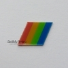 *NEW* Sinclair ZX Spectrum+48 / +128 Replacement Rainbow Badge - Colourway 1