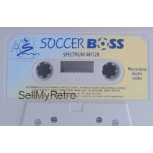Soccer Boss Tape Only for ZX Spectrum from Alternative Software