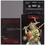 Ninja Spirit for ZX Spectrum by Activision on Tape