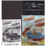 Power Drift for Commodore 64 from Activision