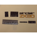 ZX80 Decal Kit