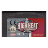 High Heat Major League Baseball 2002 Cartridge Only for Nintendo Gameboy Advance from 3DO (AGB-ASSP-