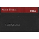 Super Tennis Cartridge Only PAL for Sega Master System from Sega (MK-4507-50)