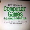 Computer Games To Play And Write
