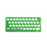 ZX Spectrum 16K / 48K Keyboard Faceplate Color Glossy Green