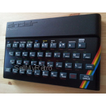 ZX SPECTRUM 16K / 48K Replica Case Set Color Black