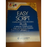 Commodore C64 Easy Script Word Processor (Disk version)