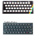ZX Spectrum 16K / 48K Keyboard Faceplate & Keyboard Mat