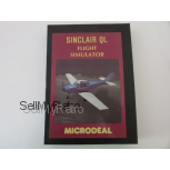 Sinclair QL Flight Simulator by Microdeal (Microdrive)