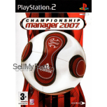 Championship Manager 2007 PAL for Sony Playstation 2/PS2 from Eidos
