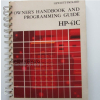 Hewlett Packard HP-41c Programmable Calculator Manuals