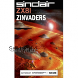 Sinclair ZX81 16K game :  ZINVADERS   - new release cassette from Cronosoft