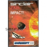Sinclair ZX81 16K game :   IMPACT   - new release cassette from Cronosoft