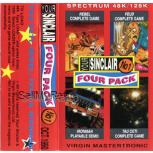 Your Sinclair Four Pack No 1 for Spectrum by Your Sinclair Magazine on Tape
