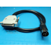 AMIGA 500 600 1200 4000 VIDEO CABLE DB23 FEMALE + HOOD DIN 6 PIN 1084P 1084S 2MT