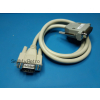 AMIGA 500 600 1200 4000 VIDEO CABLE DB23 FEMALE + HOOD VGA BUFFERED (1mt professional cable)