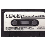 1942 Tape Only for Commodore 64 from Elite