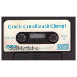 Crush, Crumble And Chomp! Tape Only for Commodore 64 from Epyx/Euro Gold