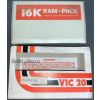 16K VIC 20 RAM Cartridge / Pack  (BOXED)