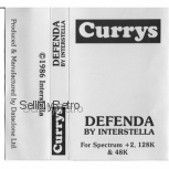 Defenda for Spectrum by Interstella on Tape