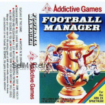 Football Manager for ZX Spectrum from Addictive Games