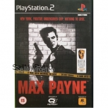 Max Payne PAL for Sony Playstation 2/PS2 from Rockstar (SLES 50325)