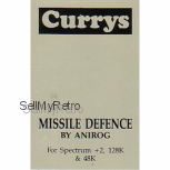 Missile Defence for Spectrum by Anirog on Tape