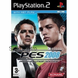 Pro Evolution Soccer 2008 (PES 2008) PAL for Sony Playstation 2/PS2 from Konami (SLES 54913)
