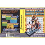World Series Basketball for ZX Spectrum from Imagine