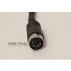Composite Video AV Cable with Audio for C64, C128, Plus/4