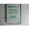 *RARE* Trojan Cad Master Light Pen & Graphics Software for Commodore 64