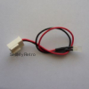 Original RED Power LED assembly for C64C with short cable