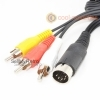 Commodore C16, C64 & C128 RCA Video Cable